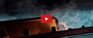 Shocking Video Shows Man Going Overboard on Cruise Ship