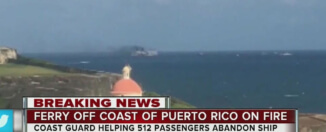 Fire erupts on cruise ship off Puerto Rico