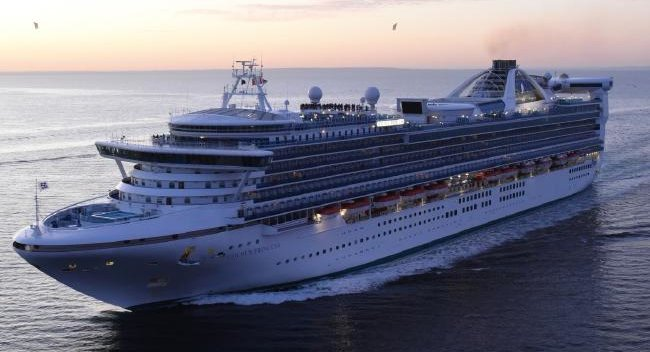 US man believed to have fallen overboard from Golden Princess, in north east Australian waters