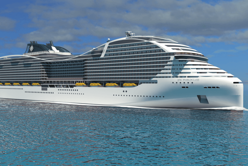 MSC Cruises Is Building Ships That Will Break Passenger Records - Building a cruise ship