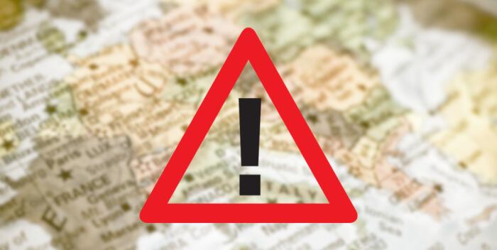 Europe Travel Alert